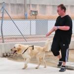 Amador durfte spazieren gehen